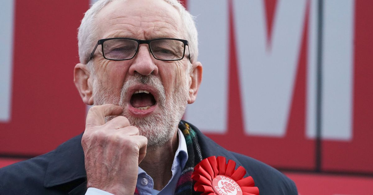 Labour Party Figures Stick Knife In To Jeremy Corbyn As Scale Of Defeat Becomes Clear