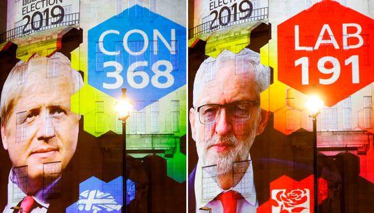 イギリス総選挙、保守党が過半数超の勢い