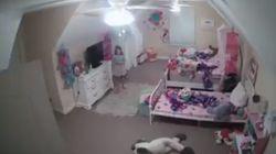 아이 방에 설치한 카메라가 해킹당했다. 낯선 남자의 목소리가