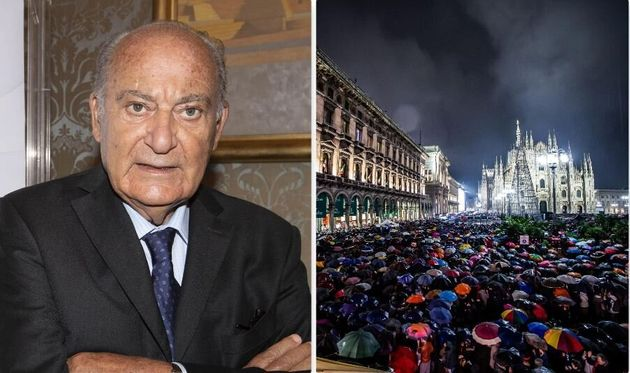 Giuseppe De Rita, fondatore Censis - Manifestazione delle Sardine a