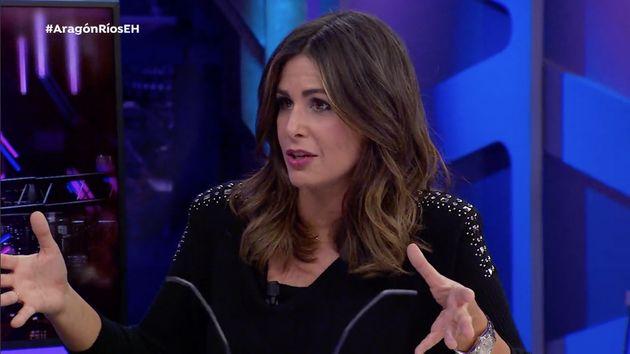 La colaboradora Nuria Roca en 'El Hormiguero' el 12 de diciembre de