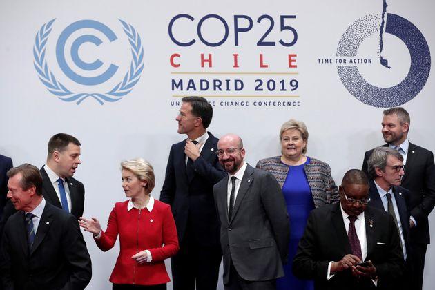 A l'occasion de la COP25, l'Europe, via la présidente de la Commission Ursula von der Leyen, a...
