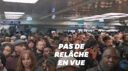 Métros saturés, ligne de RER coupée... un vrai vendredi 13 dans les transports