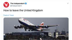 """""""Cómo abandonar Reino Unido"""": La reacción de 'The Independent' a la victoria de Boris"""