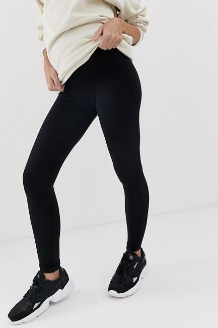 "<a href=""https://fave.co/2PgSXUm"" target=""_blank"" rel=""noopener noreferrer"">ASOS black maternity leggings</a> (&pound;14)"