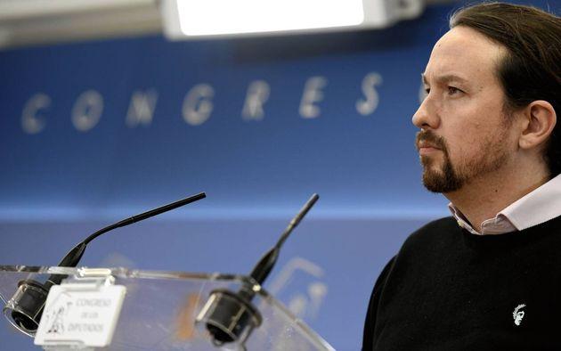 El líder de Unidas Podemos, Pablo