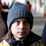 Greta arriva a Torino: