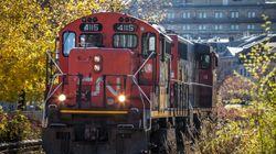 Plus de 1000 emplois du CN à Montréal à risque de