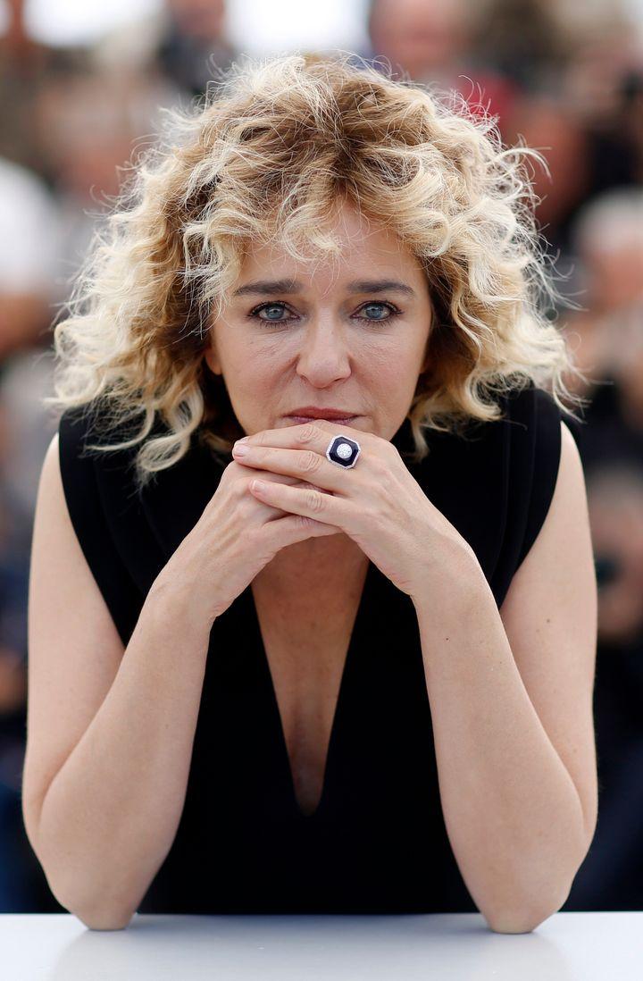 "72nd Cannes Film Festival - Photocall for the film ""Portrait of a Lady on Fire"" (Portrait de la jeune fille en feu) in competition - Cannes, France, May 20, 2019. Cast member Valeria Golino poses. REUTERS/Stephane Mahe"