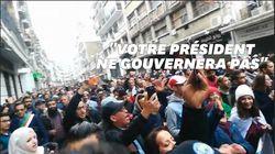 Une marée humaine à Alger contre le résultat de la