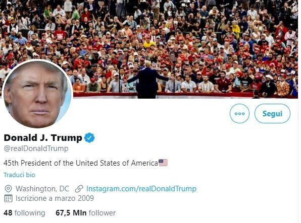 Trump batte il record di tweet: 115 in un solo giorno