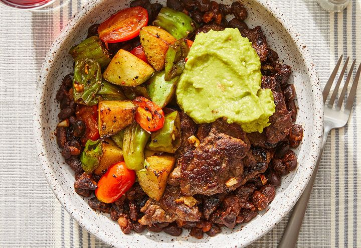 New year, new you: Blue Apron's new WW-approved (formerly Weight Watchers) recipes will have you cooking up healthier meals, like this ancho beef and black bean bowl, in 2020.