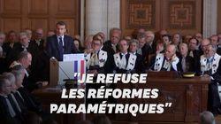 Quand Macron refusait que la réforme des retraites soit