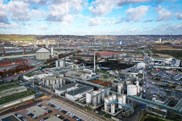 L'usine Lubrizol de Rouen va