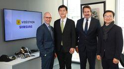 Vidéotron s'entend avec Samsung pour déployer son réseau