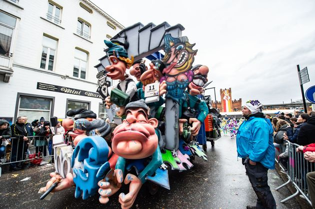 Le carnaval d'Alost en Belgique vient d'être retiré du patrimoine culturel immatériel...