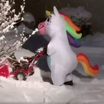 Snow Unicorns Are The Funniest Parenting Trend This