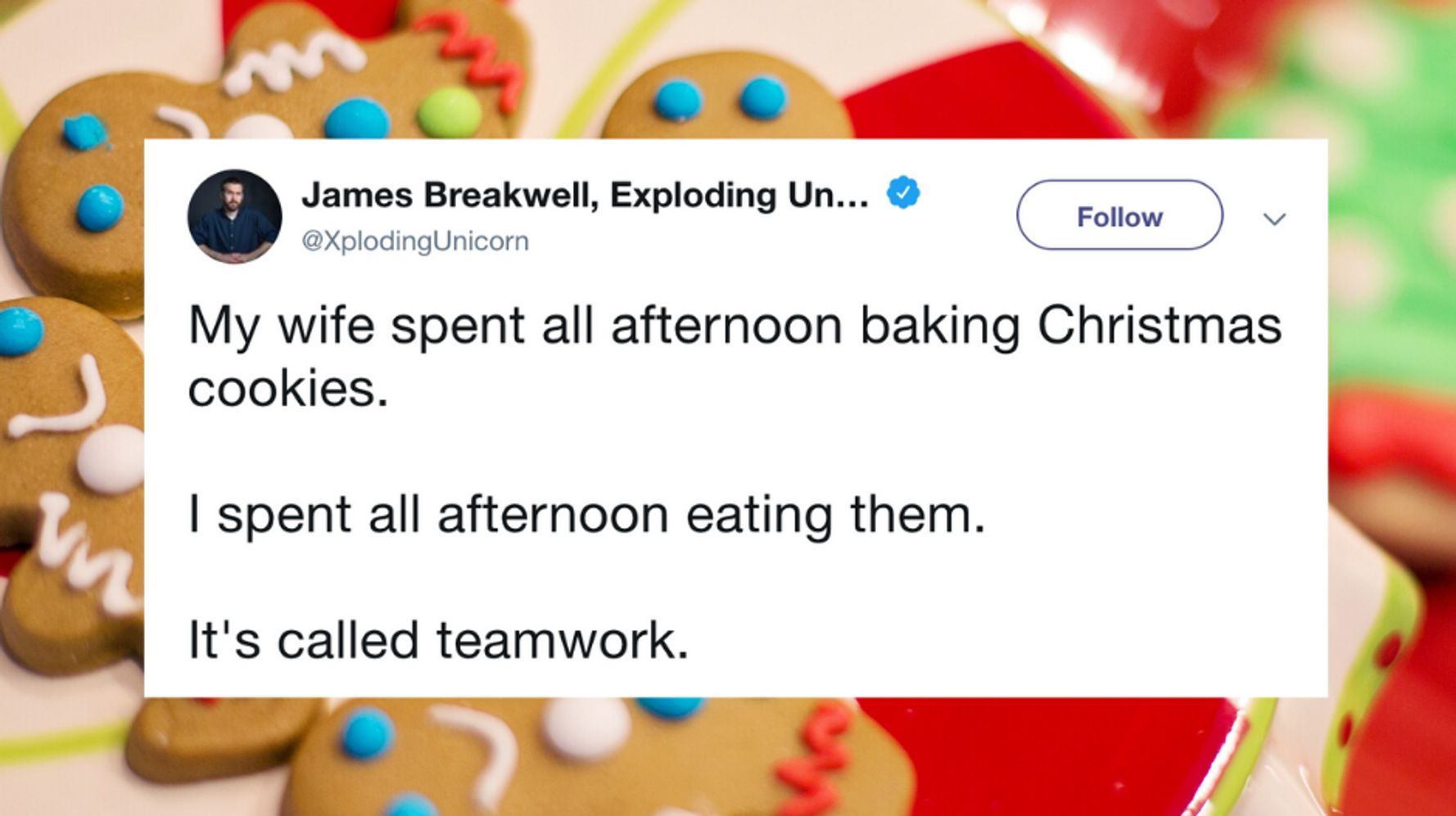 40 Funny Tweets About The Temptation Of Christmas Cookies