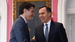Trudeau veut réduire les impôts tout en gardant des