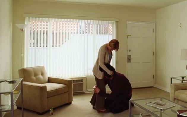 A dilacerante cena da briga entre Nicole(Scarlett Johansson) eCharlie (Adam Driver) será...
