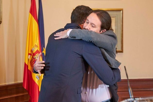 Sánchez e Iglesias sellan su preacuerdo con un