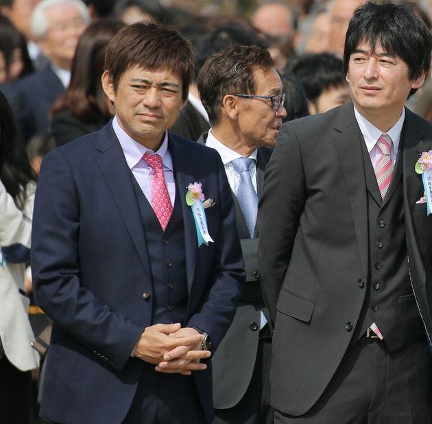 「博多華丸・大吉」の博多華丸さん(左)と博多大吉さん(右)