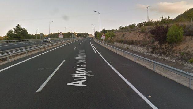 Autopista donde ha tenido lugar el