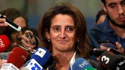 La ministra Ribera, en la Cumbre del Clima: