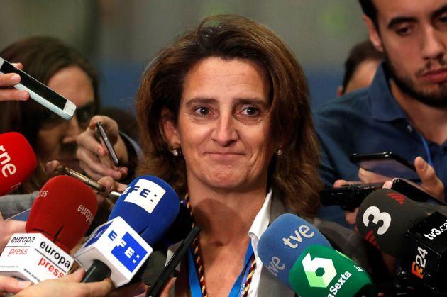 Teresa Ribera, ministra de Transición