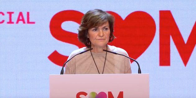 Carmen Calvo en el Congreso del