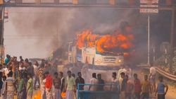 Protests Against Citizenship Act: Empty Trains, Buses Set On Fire In Bengal's