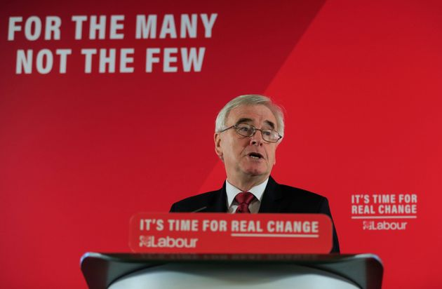 He has been shadow chancellor since 2015.