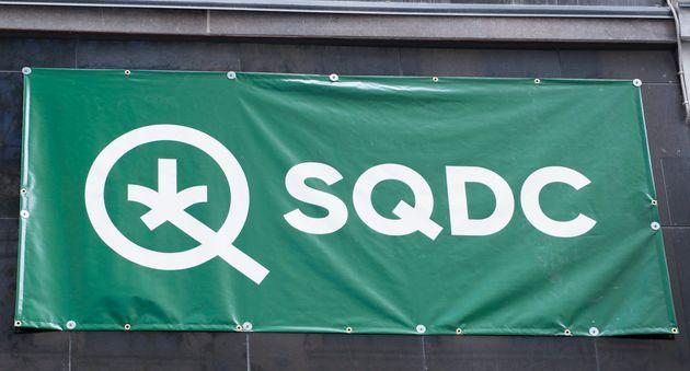 Un magasin de cannabis légal à Montréal (photo
