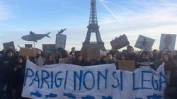 La carica delle sardine d'esportazione: in centinaia anche a Parigi e