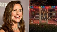 Jennifer Garner Präsentiert Sich Hinreißend Eingerichtete Ferienwohnung Hühnerstall
