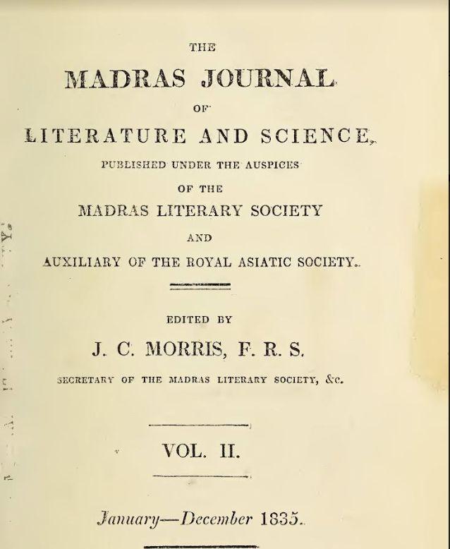 The Madra Journal
