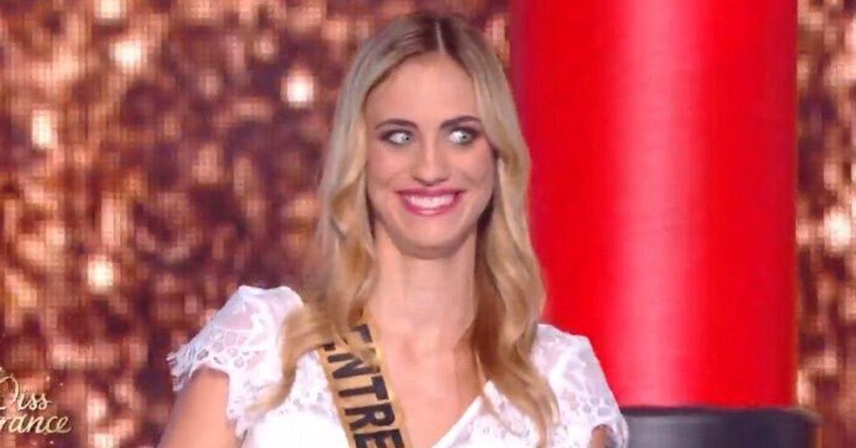 Pendant Miss France 2020, la réaction de Miss Centre-Val de Loire fait mouche