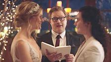 Markenzeichen Amis Gleich-Sex Hochzeits-Anzeigen Nach Konservativen Gruppe Pushback