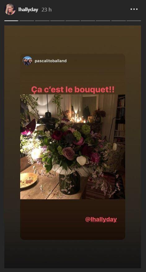 Pascal Balland sur le compte Instagram de Laeticia Hallyday pour la première