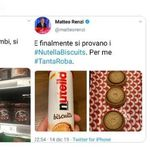 Renzi e Salvini si sfidano a colpi di Nutella.