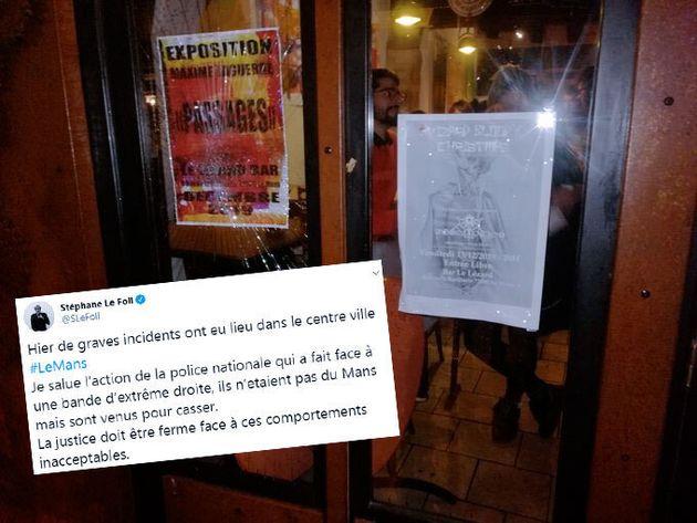 Samedi 14 décembre, plusieurs bars du Mans ont été attaqués par des casseurs d'extrême droite. Cinq personnes...