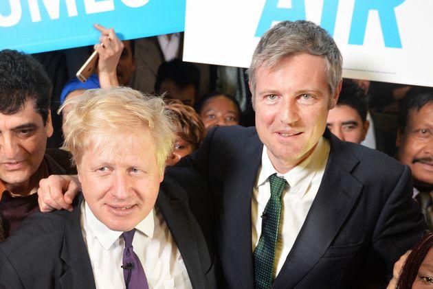 Boris Johnson supporting Zac Goldsmith failed 2016 bid to be London