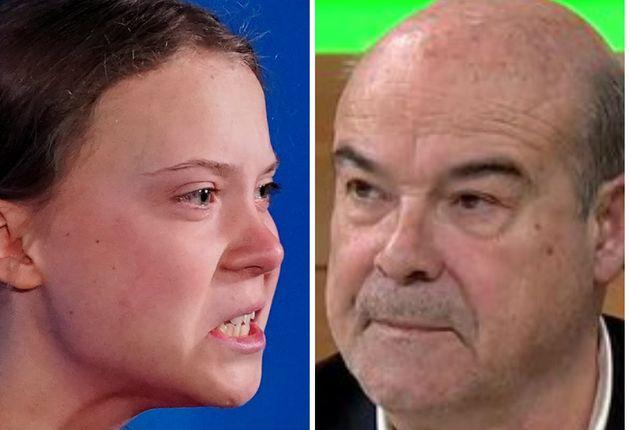 Greta Thunberg y Antonio