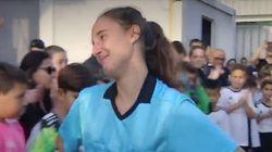 Las lágrimas de Gabriela, la árbitra de 16 años amenazada de