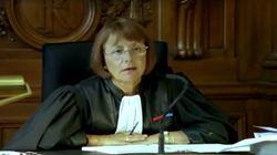 La célèbre magistrate Michèle Bernard-Requin, vue chez Depardon, est