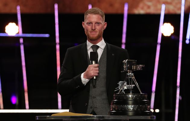 Ben Stokes speaks after receiving The BBC Sports Personality of the Year Award during the BBC Sports Personality of the Year 2019 at The P&J Live, Aberdeen.