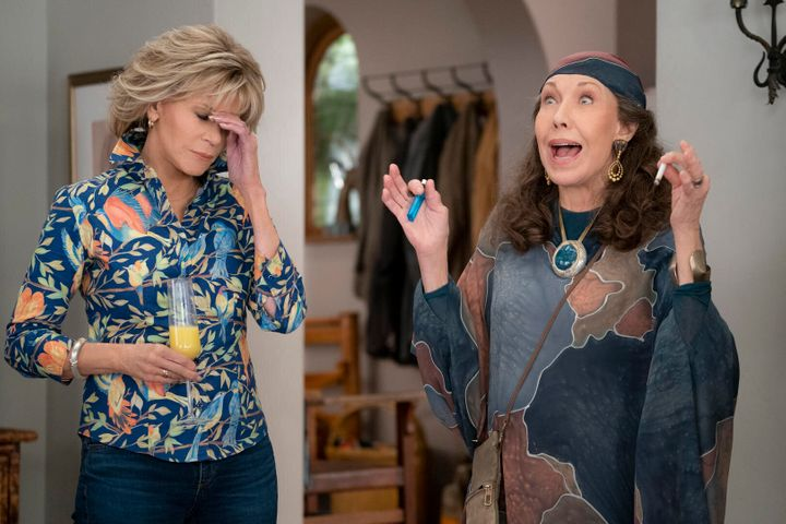 """Grace and Frankie."""