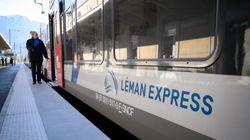 En Haute-Savoie, le train franco-suisse fait ses débuts en service réduit à cause de la
