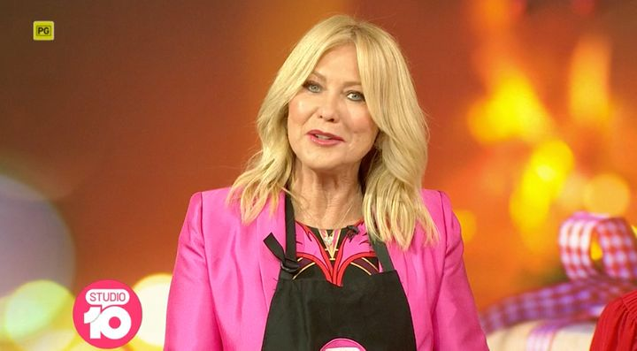 Kerri-Anne Kennerley was on Studio 10 this morning after making offensive remarks on the show on Friday.