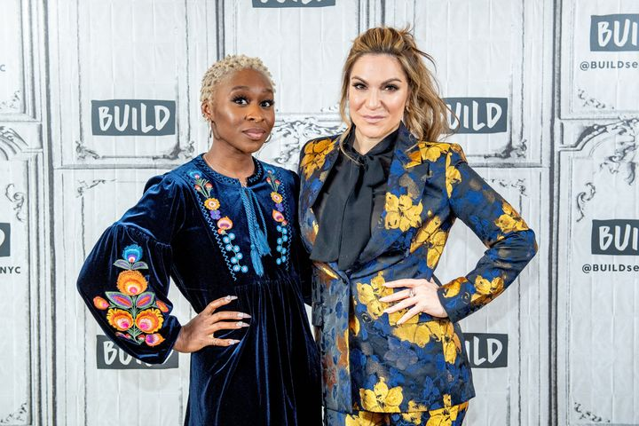 """Cynthia Erivo (left) and Shoshana Bean will headline New York's Apollo Theater this week for """"Night Divine,"""" their second all"""
